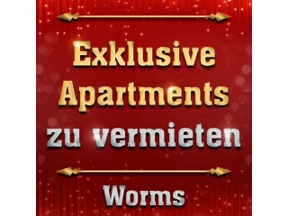 Exklusive Apartments zu vermieten in Worms Deutschland